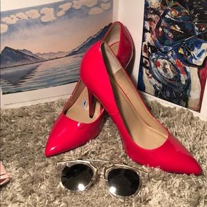 Red Madden Girl high heels